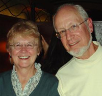 Authors Judy and Dick Reuning